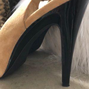 Shoes - Like New 👠 Platform Spike Peep Toe Heels Kiana